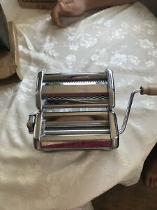 Imperia Pasta Maker Machine - Heavy Duty Stainless Steel SP150 NWOB