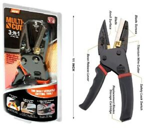 Multi ~ Cut  3 In 1 Power Cutting Tool With Built-In Utility Knife
