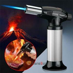 Culinary Blow Lighter Kitchen Butane Torch Chef Cooking Torch Refillable