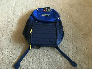 UNDER ARMOUR SC Stephen Curry Undeniable Backpack Basketball Storm Blue NEW $50.00