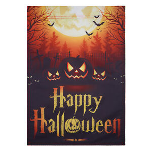 Double Sided 12.5quot;x18quot; Halloween party Garden Flag