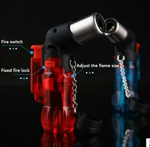 Mini Culinary Blow Torch Chef Cooking Torch Lighter Refillable Butane Gas...