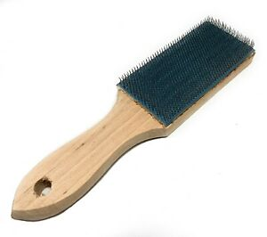 🌟File Card Cleaner Brush Cleans Wood And Metal Pieces From File amp; Rasp Teeth