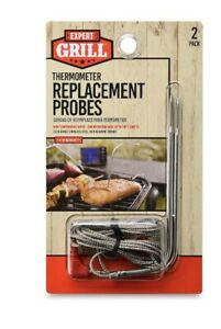 Expert Grill Digital Grilling Thermometer Replacement Probe 2 Pack
