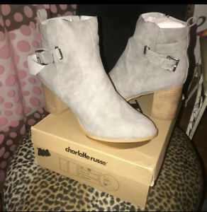 womens booties size 11 $22.00