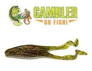 Gambler Lures Bass Fishing Buzz#x27;n Cane Toad Soft Plastic Lure **FAST SHIPPING**
