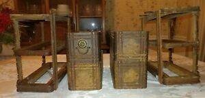 Antique Singer Treadle Sewing Machine Drawers with Frames 16676414 $50.00