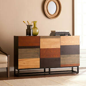 Modern Wood Sideboard Buffet Office Credenza Media Console Table Storage Cabinet $378.73