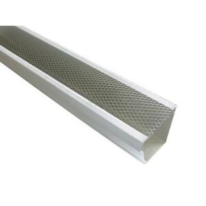 5 in. x 4 ft. armour screen lock on gutter guard 25 pro pack aluminum metals $125.59