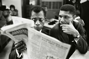 MEDGAR EVERS JAMES BALDWIN GLOSSY POSTER PICTURE PHOTO PRINT NAACP CIVIL RIGHTS