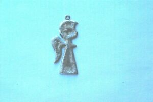 Sterling silver ANGLE Charm $6.99