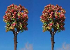 Miniature Fairy Garden 3.25quot; Colorful Trees Shrubs Set of 2 Buy 3 Save $5