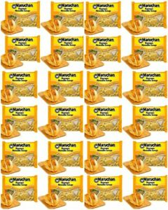 Maruchan Roasted Chicken Instant Ramen Noodle Soup Fast Preparation 24 Packs $9.89