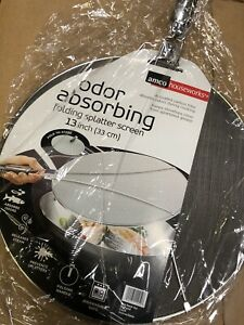 AMCO Houseworks Activated Carbon Splatter Screen 13 Inch Brand New
