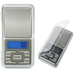 1x Digital Scale Pocket Size 500g x 0.1g For Gold Jewelry Silver Grain Gram Herb