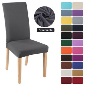 US Stretch Dining Chair Covers Slipcovers Removable Banquet Protective Cover $10.44