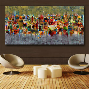 Landscape Painting On The Wall Modern Wall Pictures For Living Room Art Print $19.90