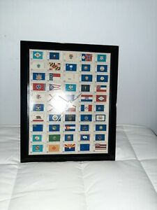 Wall clock with Bicentennial Commemorative 50 State 13 cent Stamps $28.00
