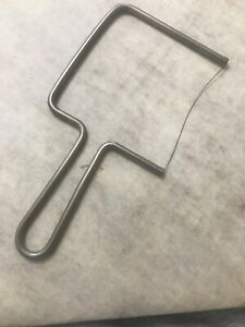 VINTAGE WIRE CHEESE SLICER 6 1 2quot; LONG WITH 3quot; BLADE