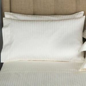 FRETTE H. C. ATLANTIC KING 4 PC SHEET SET IVORY HOTEL COLLECTION NEW WITH TAGS $299.95