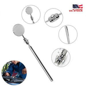 Useful Car maintenance inspection mirror universal folding telescopic mirror $2.49