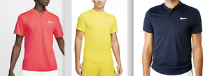 NIKE Court Mens Dry Fit Blade Collar Tennis Polo Shirts NEW NWT $45 $22.99