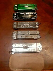 Leatherman Micra Key Ring Multitool Ad Logos Several Colors