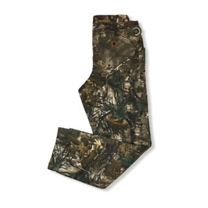 NWT Carhartt 10 Tall Camo Kane Dungaree Pants Relaxed Fit Hunting Women#x27;s Duck
