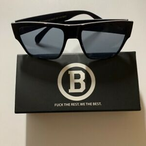 B FTR.WE THE BEST designer Sunglasses black frame