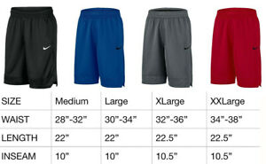 Mens Nike Dri Fit Athletic Gym Muscle Logo Basketball Shorts New With Tags $22.95