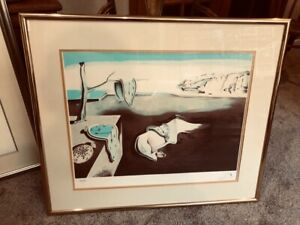 Rare Salvador Dali Original Hand Signed numbered Print $400.00
