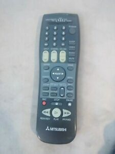 Mitsubishi Universal Remote Control Cable DBS DTV TV VCR DVD Audio $10.00