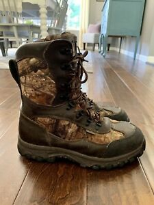 Men's Irish Setter by Red Wing Camo Hunting Boots Size 11 D Thinsulate 600 Gram