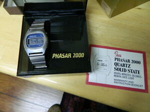 GREAT PHASAR 2000 DIGITAL IN ORIGINAL BOX WITH EXTRA LINK AND PAPERS $25.00