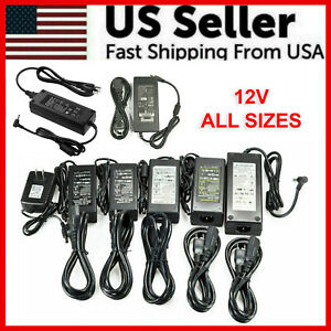 12V 1 2 3 5 6 8 10A Power Supply AC to DC Adapter For 5050 3528 RGB LED STRIP $7.89