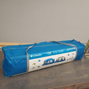 Columbia Sportswear Fall River 10 Person Instant Dome Tent Used Good