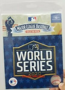 Official 2020 World Series Patch MLB Baseball Jersey Patch LA Dodgers Tampa Rays $15.95
