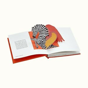 Authentic Brand New Hermes Pop Up Book