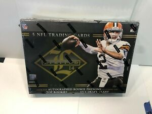 Panini Football Limited 14 Sealed Box 2014 Factory Sealed $151.37