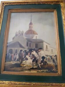 Victorian Painting Vintage Framed In Wood signed by author $25.00