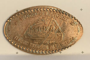 Titanic Museum Pigeon Forge Ship Pressed Elongated Penny