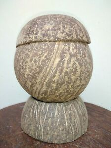New kandy Coconut Shell Bowl For Salt Holder Hand Made 100% Natural Production. $23.00