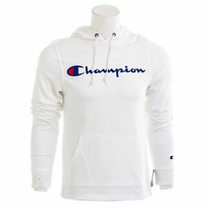 Champion Mens Jersey Middleweight Hoodie $13.99