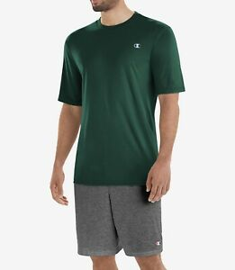 Chmpion Men Double Dry T Shirt Color Green Size Medium MSRP $20 NWT $14.99