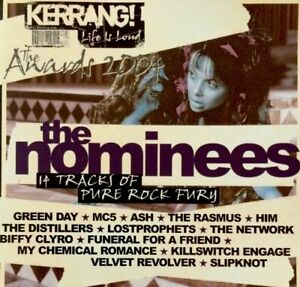 KERRANG AWARDS 2004 THE NOMINEES '14 Tracks Of Pure Rock Fury' CD Album