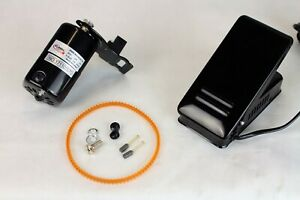 FW Sewing Machine Motor Kit with Foot Pedal amp; Belt 110 Volt 100 Watt for Impo $23.99