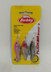 Berkley Flicker Shad #4 Crankbait Fishing Lures Pack of 3