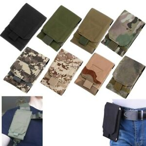 Tactical Molle Mobile Belt Hunting Holder Phone Bag Military Cell Phone Pouch