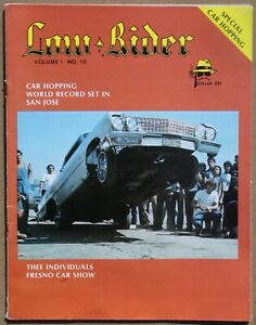 LIKE NEW quot; 1978 # 10 LOWRIDER MAGAZINE quot; TEEN ANGLE ART quot; NEVER READ $46.00