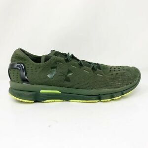 Under Armour Mens Speedform Slingshot 1266202 330 Green Running Shoes Size 11 $49.49